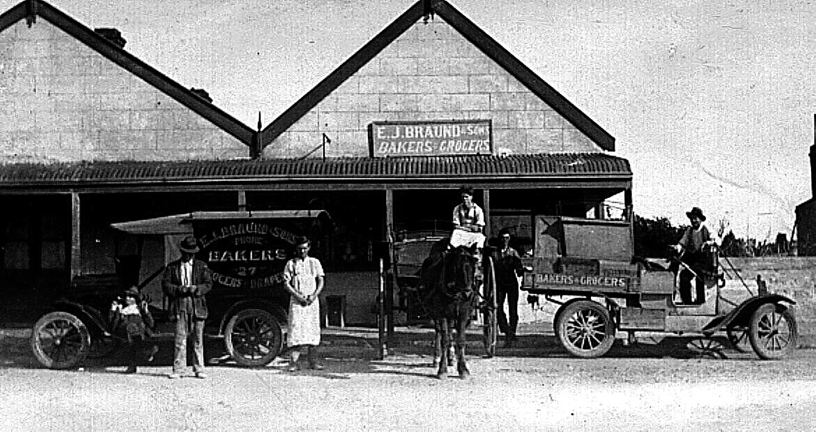Braud's Bakery and Flour Mill 1881
