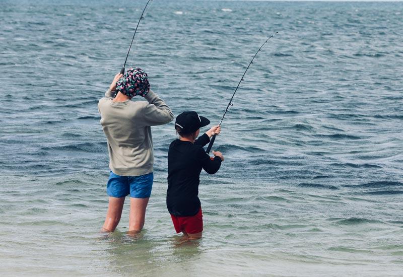 Fishing Edithburgh